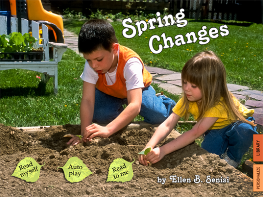 Ellen Senisi's Spring Changes app produced by Auryn