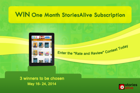 Rate and Review Giveaway - May 2014